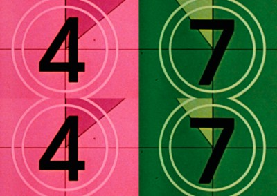 Countdown 4 and 7 (2013), c-print on matte paper